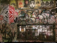 Washington, Post Alley Market Theater Gum Wall. Started in 1993 it is now a tourist attractation.