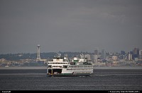Photo by WestCoastSpirit | Seattle  ferry, sea, space needle