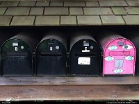 Mailboxes @ Lake Union boat house, a pretty nice way of living