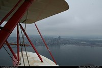 Photo by WestCoastSpirit | Seattle  biplan, plane, aircraft, seattle, waco