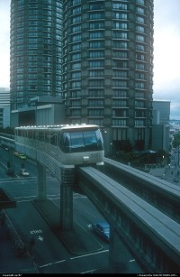Washington, The Monorail linking downtown Seattle with the Space Needle, one of the city's top landmarks