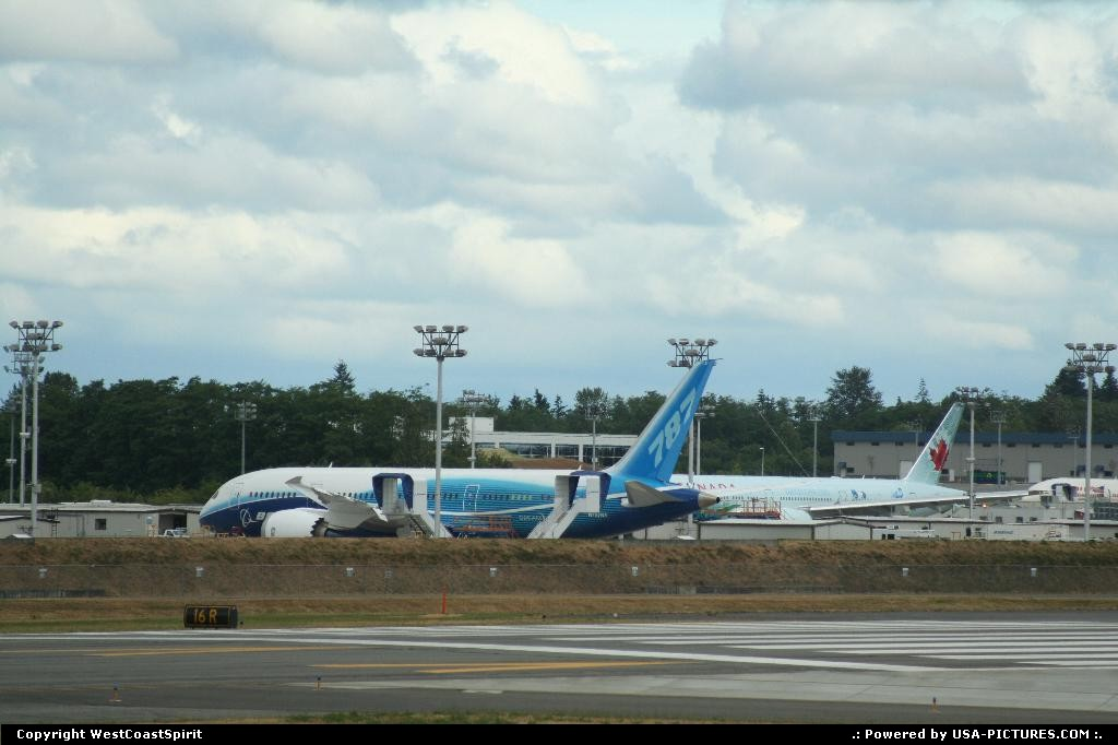 Picture by WestCoastSpirit: Everett Washington   dreamliner, 787, 7e7, PAE, composite, CFRP