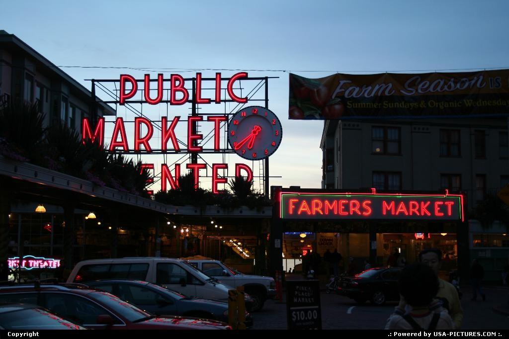 Picture by elki:SeattleWashingtonPike, Seattle