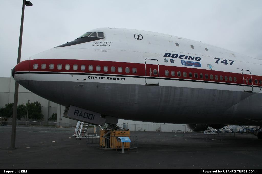 Picture by elki:SeattleWashingtonboeing, 747,