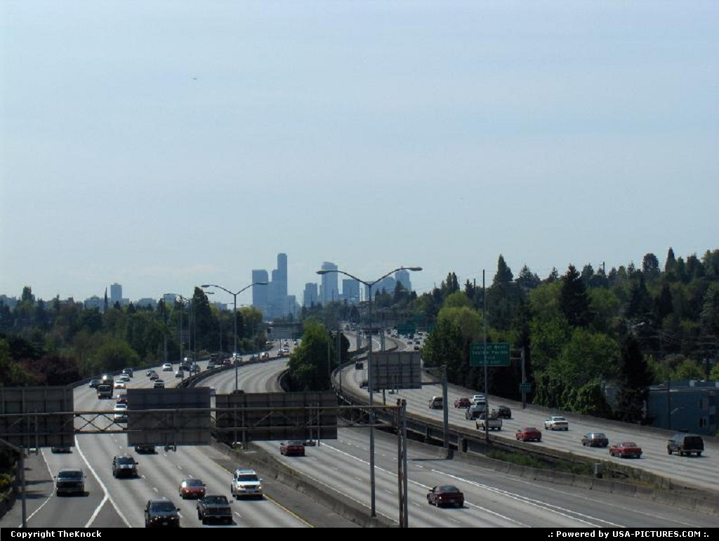 Picture by TheKnock: Seattle Washington   Seattle Highway