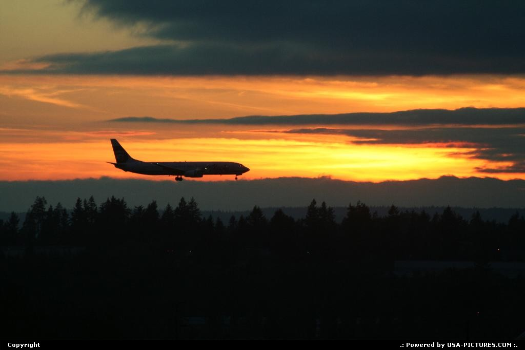 Picture by elki:TacomaWashingtonSEA, tacoma, Boeing, 737, Alaska Airlines