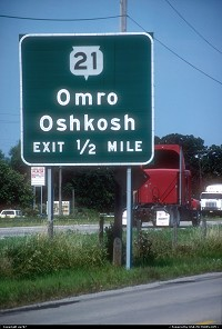 Wisconsin, Getting close to Oshkosh