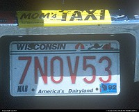 Wisconsin, In the US, registering a car according to one's wishes is easy as 1-2-3. This one stayed somewhat conservative by contending with the birthdate.