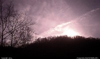 Photo by _Kyra_ | Oceana  sunset, rose tint, mountains, trees, pink, light, sky, clouds