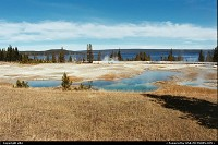Photo by elki |  Yellowstone lake, pool
