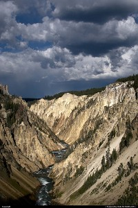 Not in a CityYellowstone : YELLOWSTONE WYOMING GRAND CANYON