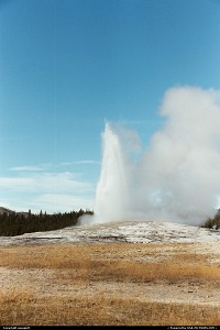 Wyoming, Yellowstone, Old Faithful